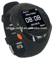 Super cooling design real-time GPS watch of tracking and monitoring