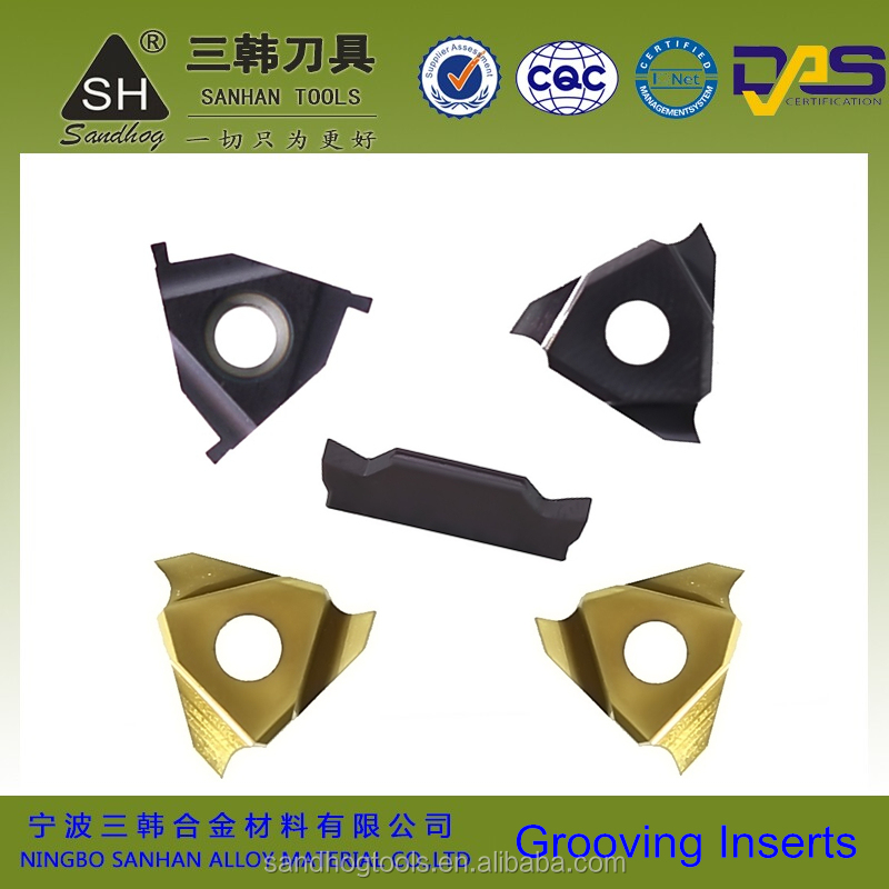 Supply Iscar ,Korloy, TaeguTec copy carbide turning grooving insert,threading inserts metal
