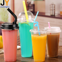 Custom printed clear disposable juice cup plastic cup PP/PET plastic cup