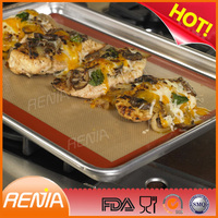 RENJIA silicone cookie baking mat heat protection table mat silicone raw material