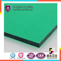 plastic sheet pc solid sheet for greenhouse roofing skylights hollow sheet