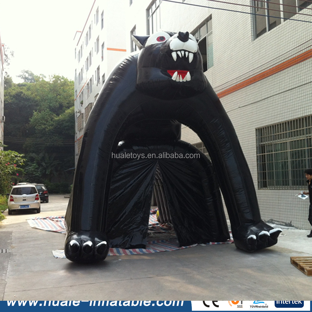 2016 special design animal large inflatable tent