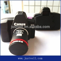 Creative gifts! PVC hidden camera usb flash drive, camera shaped usb flash drive wholesale