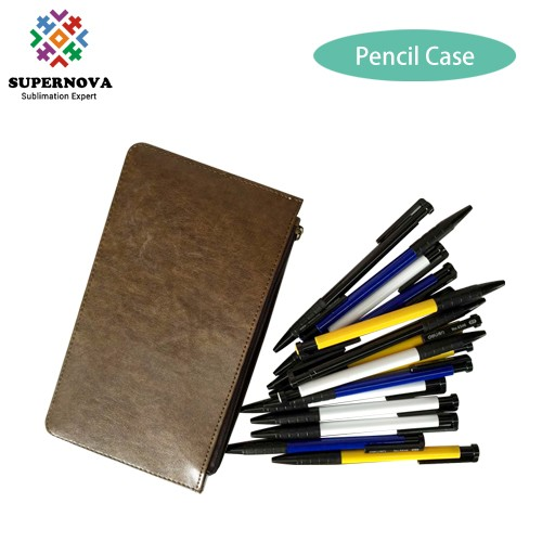 Sublimation Blanks China, Sublimation Pencil Case, Sublimation Printing Leather Blank