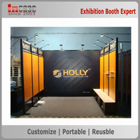 Advertising trade show booth aluminum material exhibit display panel