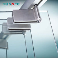 Aluminum Frameless Glass Door Sliding Folding