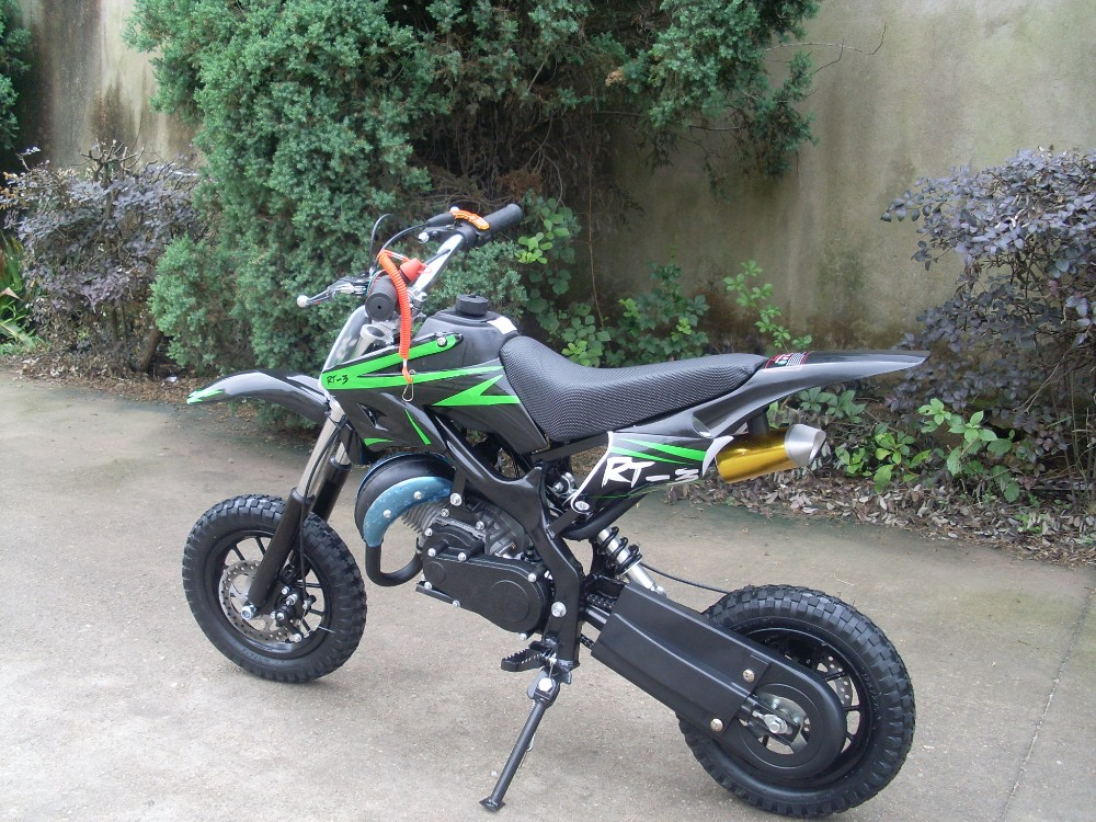 Adult colored 4 stroke electric stunt moto dirt bike