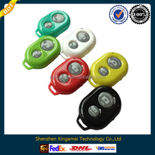 Hot sale portable mini multicolor light weight cheap bluetooth self timer