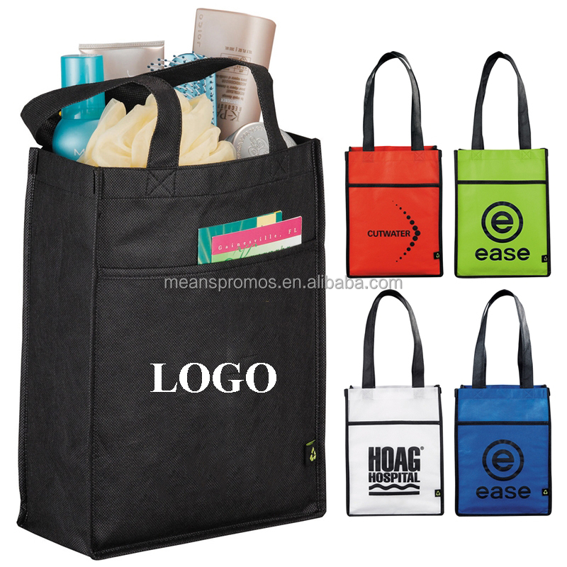 new style non woven bag new design,Cheap Promotional gift non woven bag with front pocket