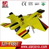 For FX861 Model 2.4GHz rc airplane Electric Model Airplane 2ch helicopter toys for gifts