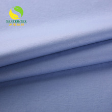 wholesale mercerized 100% cotton knit interlock fabric price for t-shirt