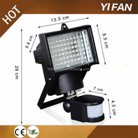 Bright 60 LED Solar Powered Security Lights Waterproof Outdoor Motion Sensor Lighting