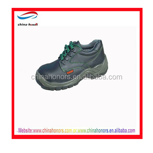 high quality customize Steel Steel toe leather safety shoes cheap china leather safety shoes/ work men safety shoes