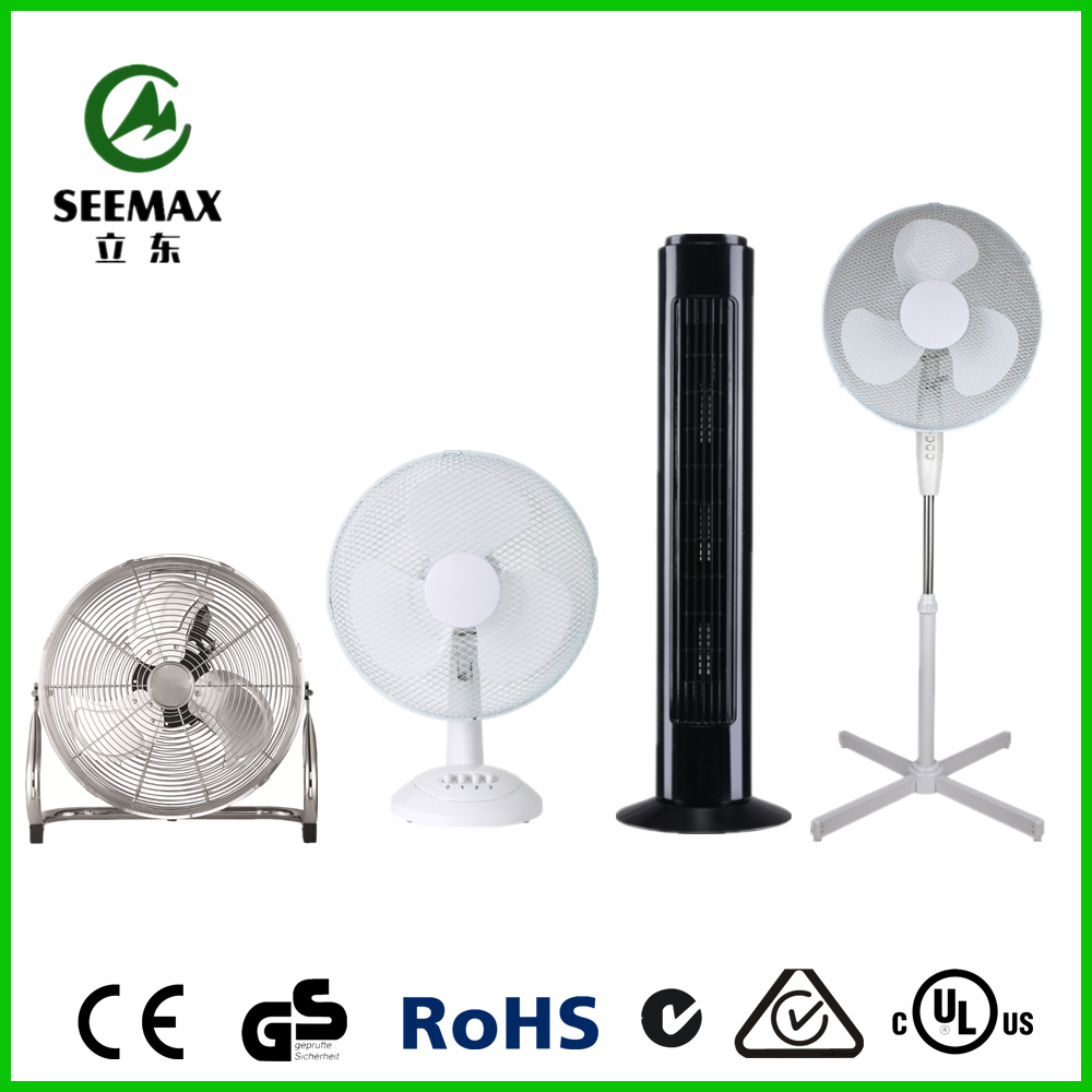 SEEMAX Competitive Price Air Cooling AC Plastic Fan Ventilation