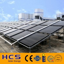 low pressure solar collector for swimming pool, hotel school project solar collector