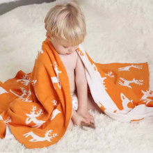 2017 New Disign Pattern Printed Baby Blanket Shawl Blanket For Sale Y133