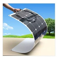 Solar Panel Pole Mounting System Flexible Solar Panel 150 Watt