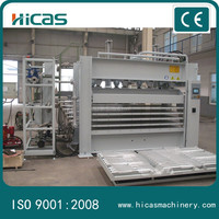 HICAS hydraulic door skin press machine 100 ton