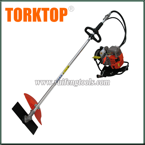 4 stroke wood working tools 139F gasoline brush cutter backpack grass trimmer