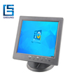 Pos 8 Inch Touch Screeen LED Monitor With VGA/AV/BNC/DVI Input