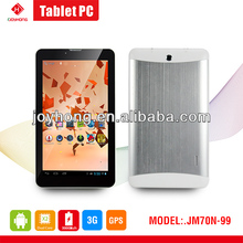 7 inch Dual Core Built in 3G Tablet PC with MTK