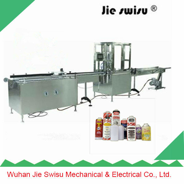 pharmaceutical aerosol can filling plant