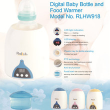 Hot Sale Model No RLB918 China Supplier Factory Digital Bottle Baby Food Portable Bottle Warmer For Breast milk