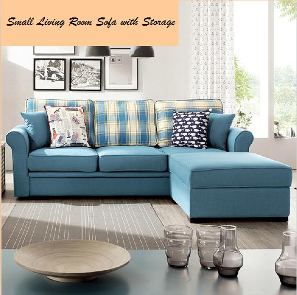 Simple et petit salon canap avec stockage confortable for Petit canape confortable