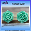 Green resin flower bulk resin flower bulk artificial flowers st3072