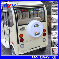 2016 new erickshaw passenger tricycle battery operated electric tricycle for india market