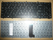 Brand new white RU layout keyboard for clevo M1110 M1110Q M1111 M1115 notebook/laptop without frame/MP-08J66SU-43013