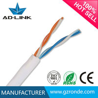 CE/ROHS Cat3 Telephone Cord Lan Cable