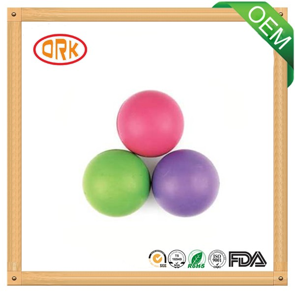 Colored Silicone High Tempareture Resistant Soft Rubber Ball