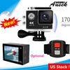 2017 Gopros Camera 170 degree WIFI H9 Action camera for outdoor helmet sports