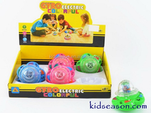 KIDSEASON MUSICAL SUNFLOWER UFO SPINNING TOP TOYS