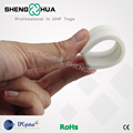 High Temperature Resistant RFID Laundry Tags 860-960mhz White for Towels Cleaning