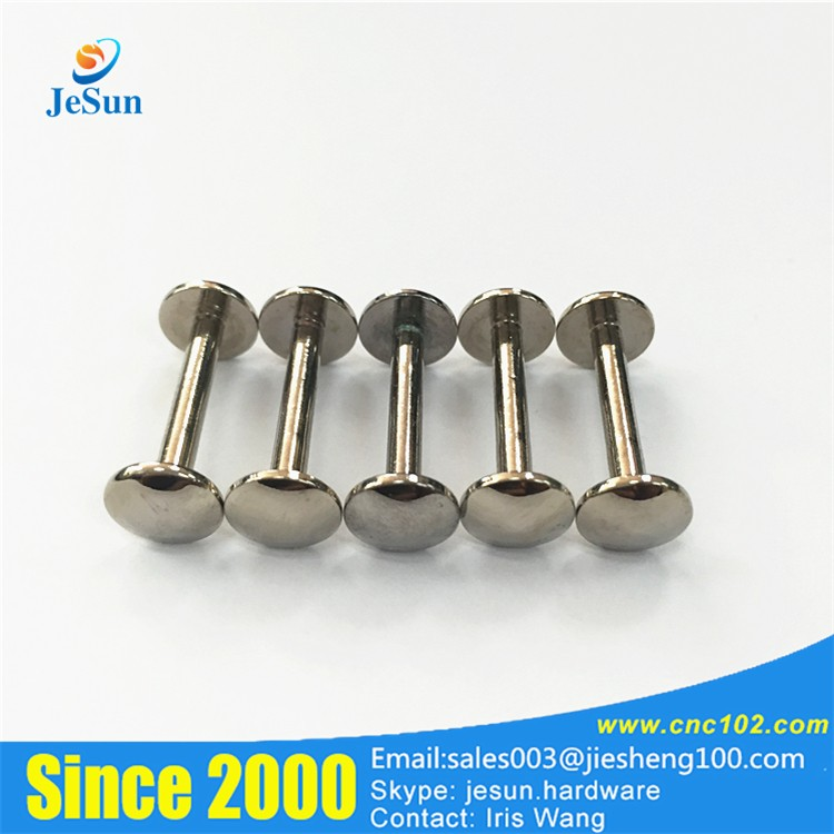China Supplier Security Big Button Bed Frame Round big head screws