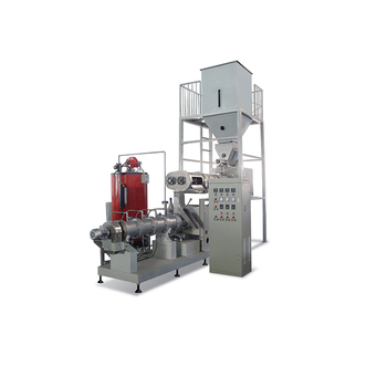 Pellet extruder equipment floating fish food production machine