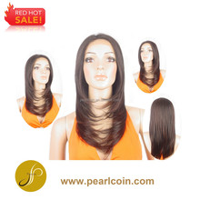 Hot Sale On Sale 100% Synthetic Fiber Lacefront Wig