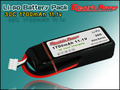 Cheap Price Low Price 11.1v 1700mah 30C Lipo Battery RC Battery on sale