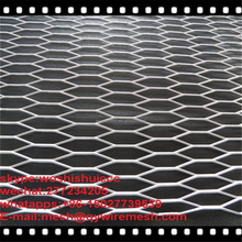 Aluminum expanded metal wire decorative mesh stainless steel screen