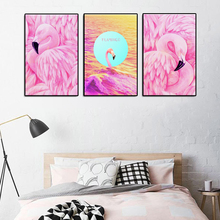 Home Decoration Abstract Colorful Animal Canvas Painting for Living Room Wall Art Fashion Gift Artwork Giclee Printed Custom