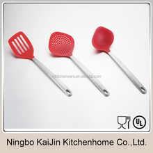 2015 new best on sale colorful nylon kitchen utensil set