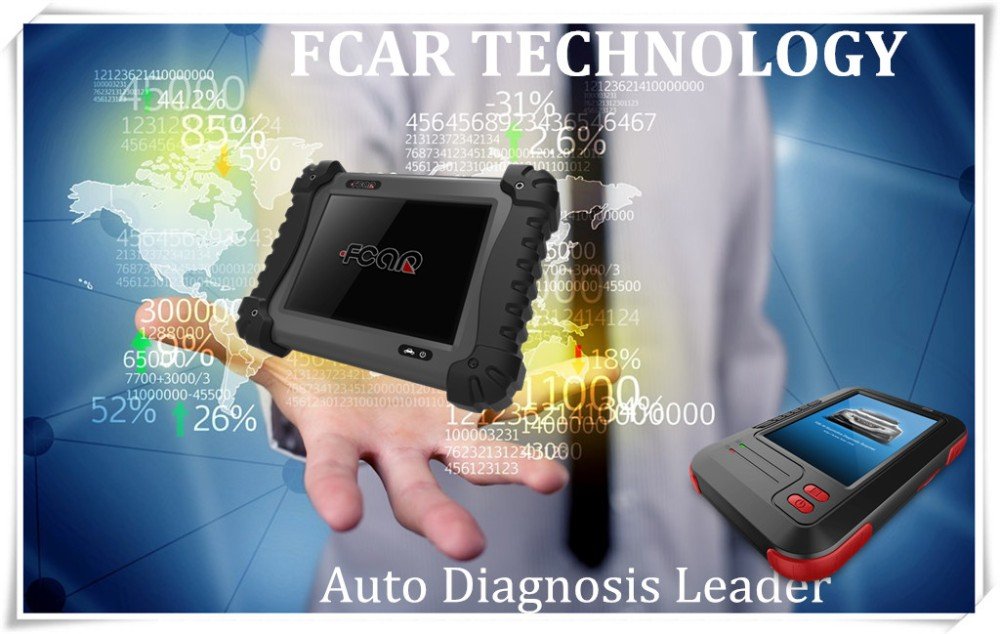 FCAR F3-D auto diagnostic equipment for Heavy duty truck repair diagnose, Man, Tata, Mahindra, Toyota, Bosch, Cat, etc