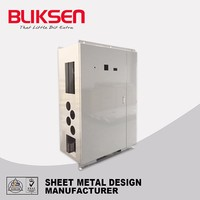 Metal aluminum wall mount industrial computer chassis storage case