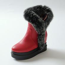 YX10A058 2017 Hot Style Laides Snow Boots With Sponge Outsole