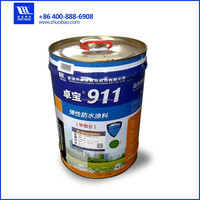 double component water based roofing waterproofing coating polyurethane paint