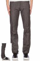 Royal wolf denim jeans manufacturer 100% cotton grey black denim raw material for jeans