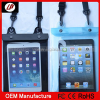 Waterproof case pouch For ipad air mini underwater diving bag