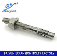 M8 M16 Low price High quality zinc plated Wedge anchor with washer
